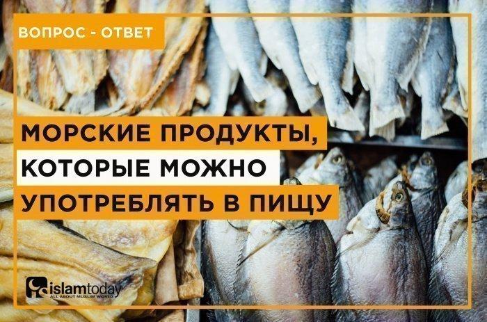 О разрешенных морских продуктах. (Источник фото: unsplash.com)