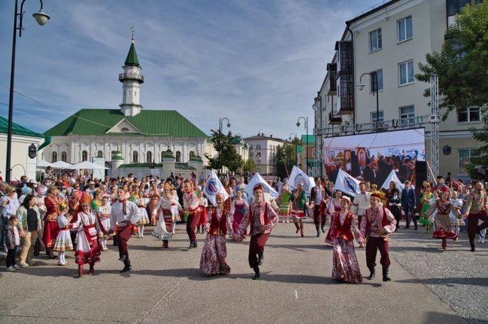 Фестиваль «Мозаика культур» в этом году прошёл на территории Старо-Татарской слободы