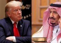 Трамп и король Саудовской Аравии обсудили Ближний Восток и коронавирус