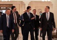 Асад поблагодарил Россию за помощь в преодолении послевоенного кризиса