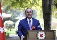 Глава МИД Турции заговорил по-русски
