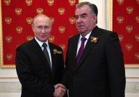 Путин поздравил Таджикистан с Днем независимости