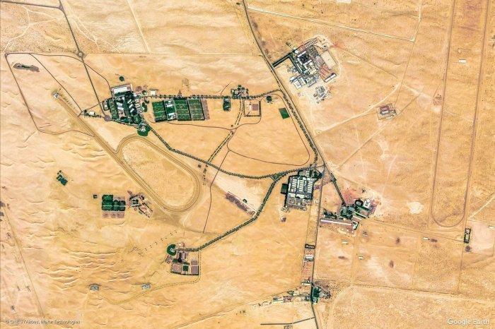 Конюшни в Абу-Даби