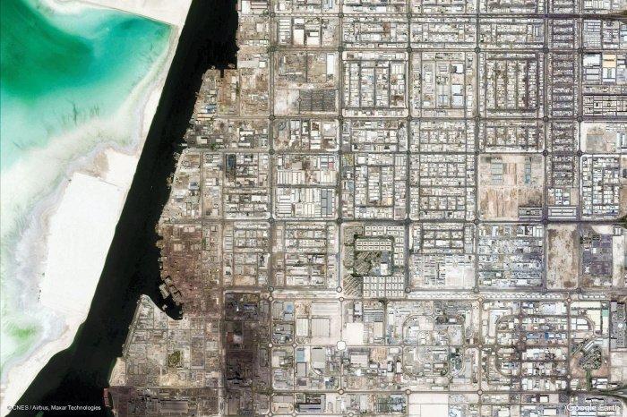 Промышленная Зона Мусаффа, Абу-Даби.