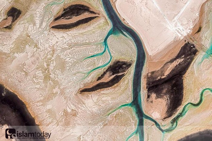 Поразительные фотографии Ближнего Востока из космоса
