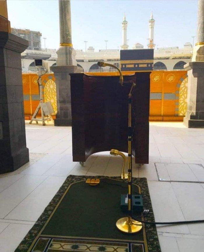 Почему знаменитые золотые микрофоны в Запретной мечети никогда не дают сбоев? (ФОТО)