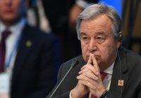 Генсек ООН осудил теракт с множеством жертв в Афганистане