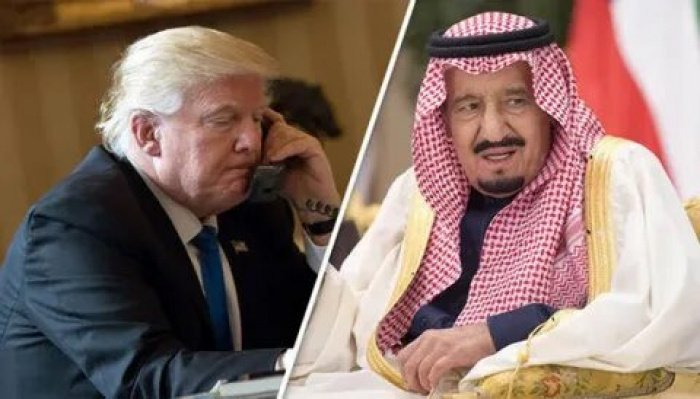 Лидеры США и Саудовской Аравии провели телефонные переговоры.