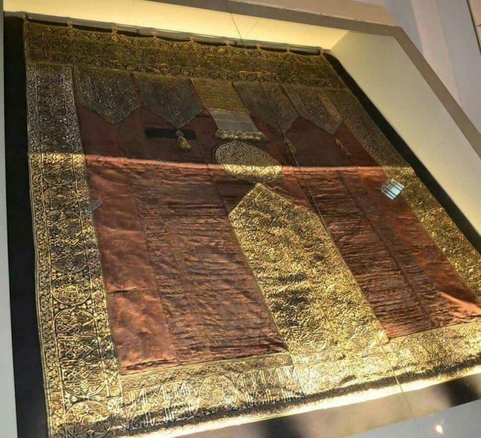 500-летняя Кисва в одном из музеев Басры