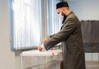 Муфтий РТ проголосовал на выборах Президента Татарстана