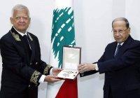 Президент Ливана наградил экс-посла России
