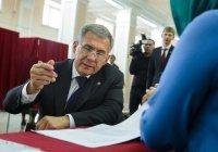 Рустам Минниханов победил на выборах президента Татарстана