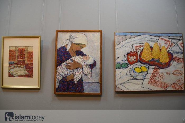 Выставка в Выставочном центре Манеж к столетию ТАССР.