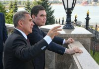 Минниханов и Бердымухамедов провели телефонные переговоры