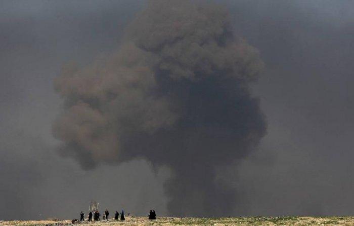 Сирийской агентство сообщило о крушении американского вертолета.