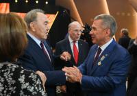 Назарбаев поздравил Минниханова с переизбранием
