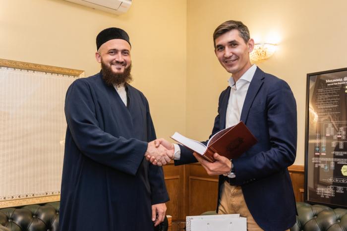Камиль Самигуллин встретился с Ленаром Рахмановым.