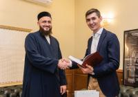 В гостях у муфтия РТ – топовый финансовый и юридический советник Ленар Рахманов