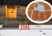 Место, на котором Джибриль (а.с.) научил Пророка Мухаммада (мир ему) намазу (ФОТО)