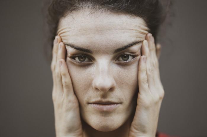 С возрастом у человека закрепляется определенное выражение лица