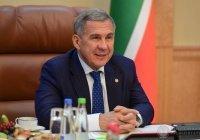 Рустам Минниханов получил удостоверение президента Татарстана