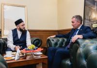 Муфтий РТ встретился с постпредом РТ в Санкт-Петербурге