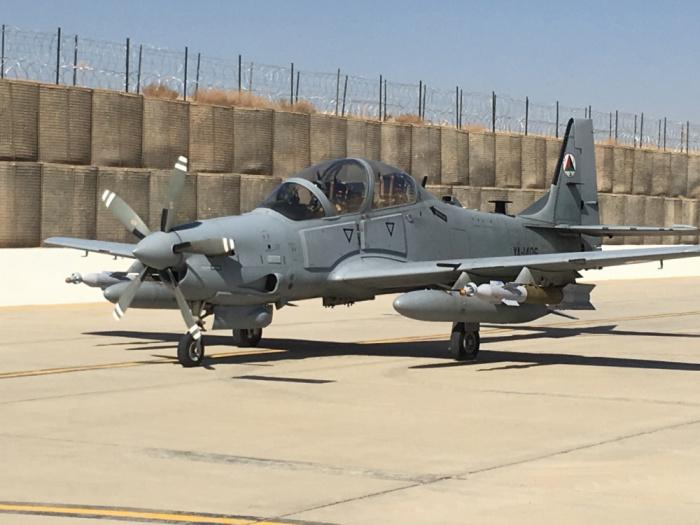 A-29 Super Tucano - лёгкий турбовинтовой штурмовик, выпускающийся бразильской компанией Embraer. .