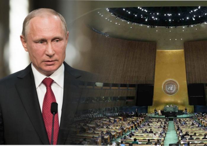 Путин выступит на ГА ООН.