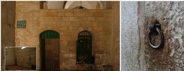 Кольцо, к которому Мухаммад (мир ему) привязал Бурака в ночь Мирадж (ФОТО)