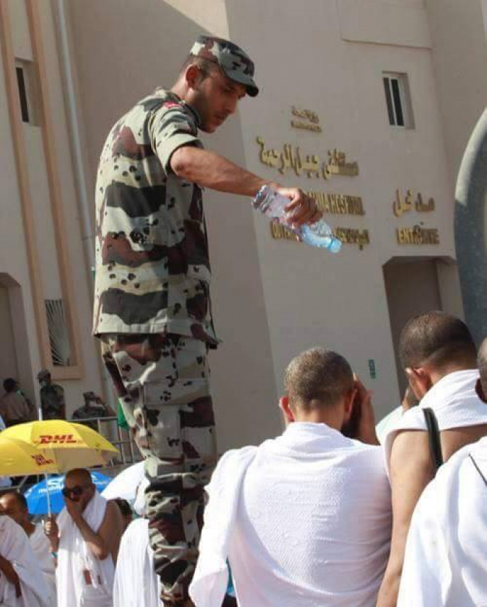 Десятки тел устилают пол в Запретной мечети в Мекке (ФОТО)