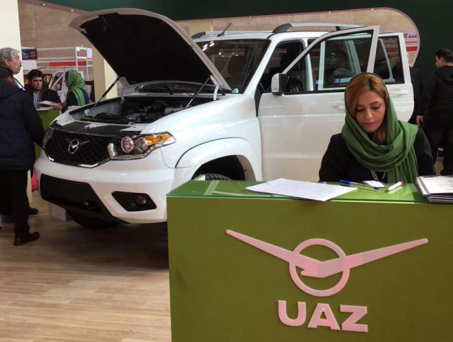 Российские УАЗы появились в продаже в Иране.