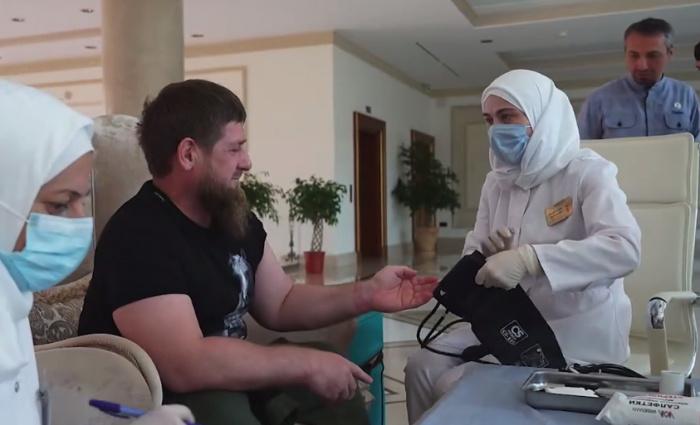 Ранее глава Чечни привился от сезонного гриппа.