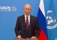 Путин заявил об обострении угроз терроризма в мире