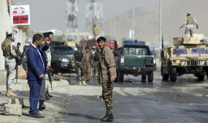 Десятки полицейских погибли от рук талибов на юге Афганистана.