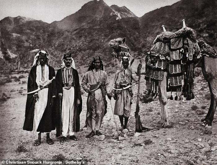 Самые первые в истории фото мусульман Мекки