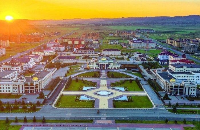 Столица Ингушетии - город Магас.