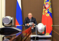 Путин обратился к россиянам из-за ситуации по коронавирусу