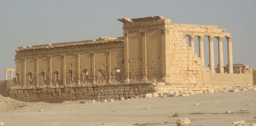 Храм Ваала в Сирии