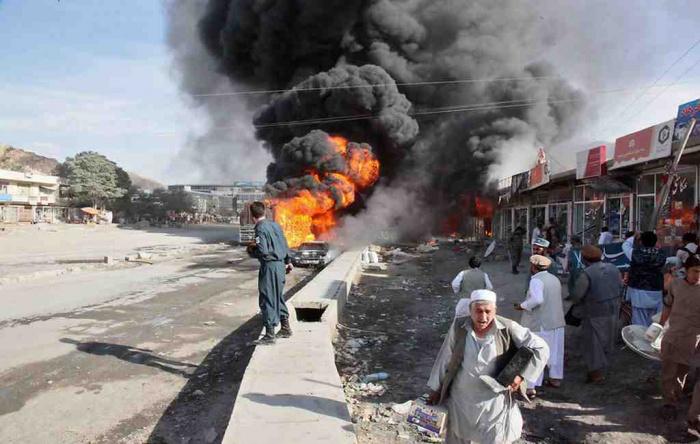 Мощный взрыв прогремел в Афганистане.
