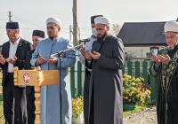 Муфтий Татарстана открыл в Арском районе новую мечеть