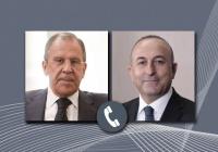Лавров и Чавушоглу выступили на немедленное прекращение боевых действий в Карабахе