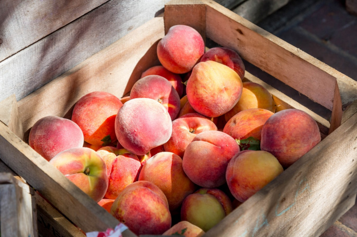 В персике содержится вещество под названием кверцитин, обладающее противоопухолевым действием