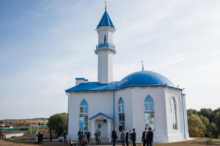 Общая площадь новой мечети составляет 200 квадратных метров, вместимость — 50 человек