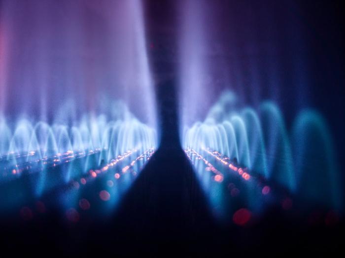 Планируется, что во время церемонии запуска фонтан установит мировой рекорд Гиннесса