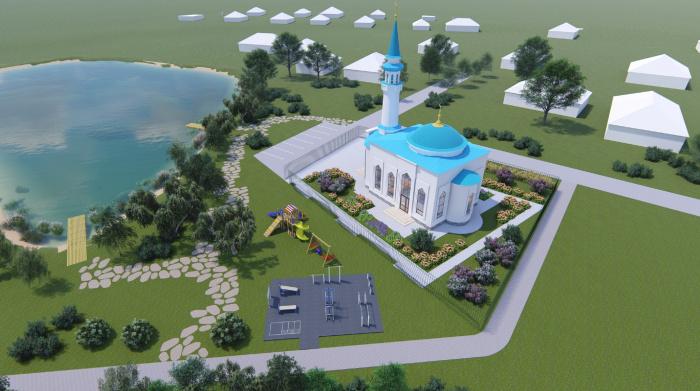 Объявлен сбор денег на строительство мечети в поселке Новая Тура Зеленодольского района РТ