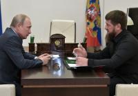 Путин поздравил с днем рождения Кадырова