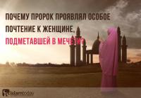 Почему Пророк (мир ему) проявлял такое почтение к женщине, подметавшей пол в мечети?