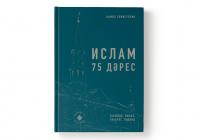 "Издана книга муфтия Татарстана ""Ислам. 75 дәрес"""