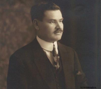 Зиннетулла Ахсен Бёре. Один из самых известных татар в Тампере. 1920-е гг. (1)
