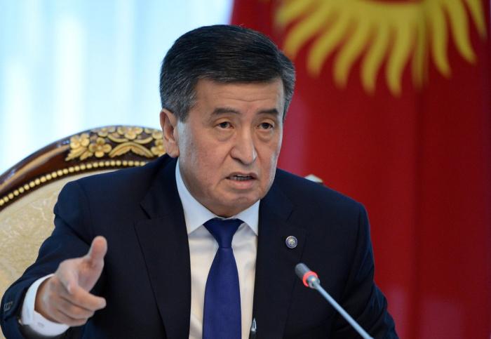 Сооронбай Жээнбеков находится в Бишкеке, сообщили в его пресс-службе.